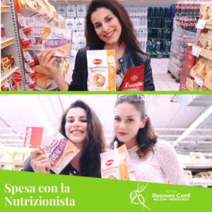 spesa con la nutrizionista letizia